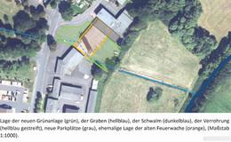 Hochwasserschutz und Erweiterung der grünen Lunge