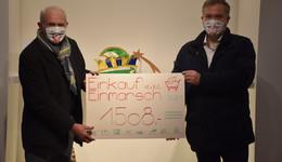 1.508 Euro Spenden für den Förderverein des Fastnachtsmuseums