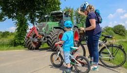 Aktion Rücksicht macht Wege breit des Kreisbauernverbands gestartet