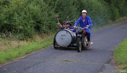 Ersröder Renn-Team gewinnt beim Werner Rennen für Irrsinnigsten Umbau