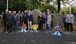 Gedenkfeier an die Luftschlacht über dem Seulingswald vor 75 Jahren
