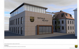 Erweiterung des Neuhofer Rathauses geplant: Beginn wohl im Frühjahr 2021