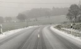 Glatteis und Schnee am Mittwoch: Vorsicht im Straßenverkehr