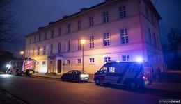 Einsatz in der Innenstadt: Brand in der Buseckstraße
