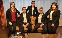 VR Bank Fulda: Fünf Azubis haben ihre IHK-Prüfungen erfolgreich bestanden