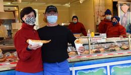 Der Geschmack von Lolls in der Biberstadt - Fischspezialitäten vor dem be!
