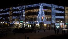 Stimmungsvoll und effizient: Centhof schmücken 63.300 LEDs