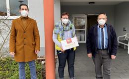 Voller Einsatz: Bürgermeister zieht Hut vor medizinischem Personal
