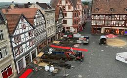Bau der Nahwärmetrasse am Marktplatz beginnt im September