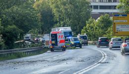 Sturm über Osthessen: Umgestürzte Bäume behindern den Verkehr