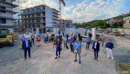 CDU-Sommer-Tour: Domschule zukunftsfähig - 86 neue Wohnungen bis 2021