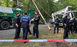 Gegen Extremisten im Dannenröder Forst vorgehen - Polizei schützen!