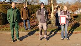 Ausbildungszertifikat für Garten- und Landschaftsbau Peter Kümmel