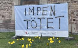 Imp(f)en tötet: 15 Plakate der Bürgertest-Zentren zerstört - Polizei fährt Streife