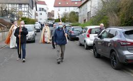Schöne Tradition: Fahrzeugsegnung am 1. Mai ist fester Bestandteil