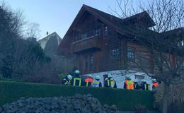 Technischer Defekt löste wohl Sauna-Brand in Nieder-Gemünden aus