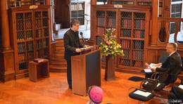 Hochschulpfarrer Dr. Böth hält interessanten Festvortrag