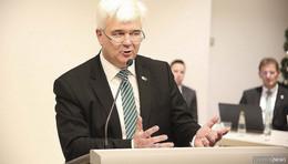 Bürgermeister(-kandidat) Timo Zentgraf will es wieder wissen