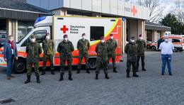 Im Kampf gegen Corona – DRK-Akademie schult Bundeswehrsoldaten