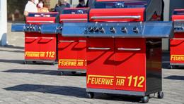 Ein Feuerwehrmann, eine Idee: Grillfürst entwirft einzigartigen Feuerwehrgrill