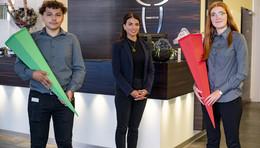 Ausbildungsstart beim Hotel Platzhirsch: Gleich drei Neue fürs Team