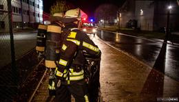 Gasaustritt auf Werksgelände im Industriegebiet Fulda-West