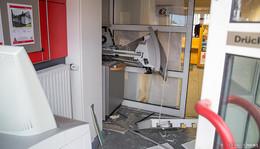 Sparkassen-Filiale Bronnzell wird nach Automatensprengung nicht mehr öffnen