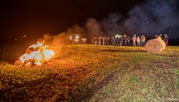 Ärger über Agrar-Paket: In Osthessen brennen am Dienstagabend Mahnfeuer