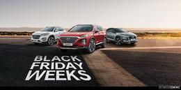 Hyundai Händler Weber & Diel mit Black Friday Weeks bis 27. November