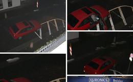 Blitzeinbruch: Gangster fahren mit Opel in Euronics-Markt - Fahrzeug ausgebrannt
