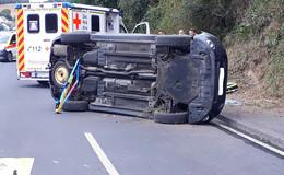 Tödlicher Unfall: Auto überschlägt sich zwischen Breitenbach und Lüdersdorf