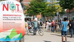 Bündnis schlägt Alarm: Festspielstadt soll den Klima-Notstand ausrufen