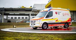 Baby-Krankentransportwagen des DRK Fulda wird vorgestellt