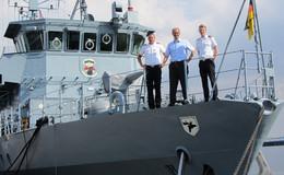 Minenjagdboot Fulda verlegt am Mittwoch zum Einsatz ins Mittelmeer