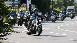 Große Motorraddemo gegen geplante Restriktionen und Fahrverbote