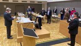 Konstituierende Sitzung im Stadtparlament: Suchet der Stadt Bestes