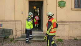 Im DRK-Seniorenzentrum: Einsatz für die Feuerwehr - leichte Rauchentwicklung