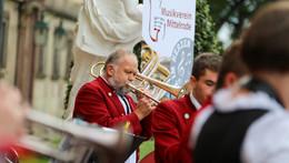 Musikverein Mittelrode gibt kostenloses Platzkonzert
