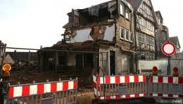 Nicht schon wieder: Gebäudeteile von Fachwerkhaus eingestürzt