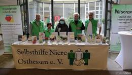"""Selbsthilfe Niere Osthessen e.V."" informiert seit 21 Jahren"
