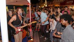15 Bands an einem Abend: Straßenmusikfestival bietet Open Air der Superlative