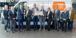 Tafel-Flotte wieder vollständig: Sprinter-Kühlfahrzeug bei Kunzmann übergeben
