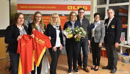 Sabine Schade langjähriges Engagement in der DLRG ausgezeichnet