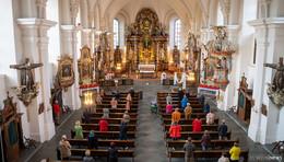Positive Resonanz zum Hoch oben - Gottesdienst in der Klosterkirche