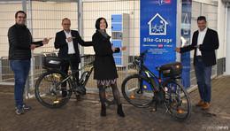 Parkhaus Ruprechtstraße: Parken und Akku-Aufladen in der Bike-Garage