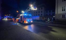 Feuerwehreinsatz beim Landratsamt: Nur Wasserdampf am Entlüftungsrohr