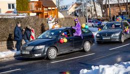 Eine echte Narretei: Karnevalisten feiern ausgelassen