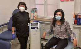 Mit elektromagnetischen Wellen gegen Blasenschwäche und Inkontinenz