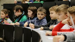 Wer nicht fragt, bleibt dumm: Thema Behinderung an der Kinder-Uni