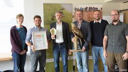 """Artenhilfsprojekt """"Rotmilan in der Rhön"""" erhält UN-Auszeichnung"""